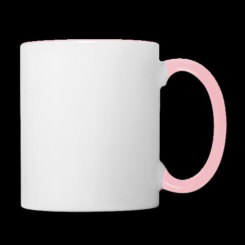 SkyHigh - Women's Hoodie - White Lettering - Contrasting Mug