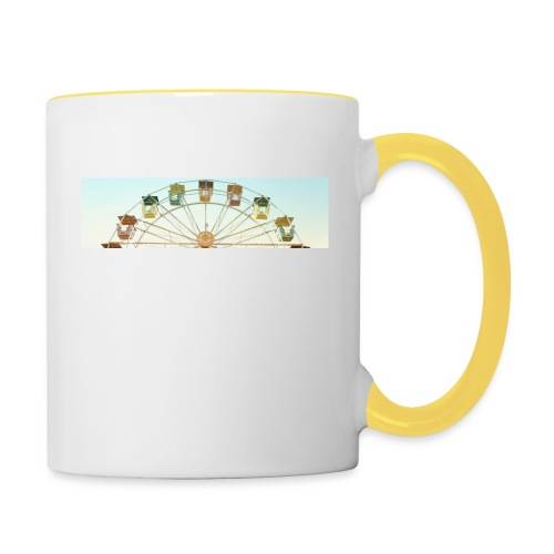header_image_cream - Contrasting Mug