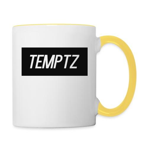 TempTz Orignial Hoodie Design - Contrasting Mug