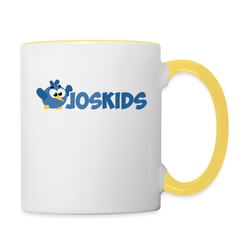 Logo JosKids 3 - Tazze bicolor