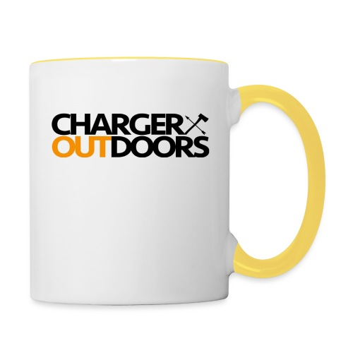 Charger Outdoors Logo - Contrasting Mug