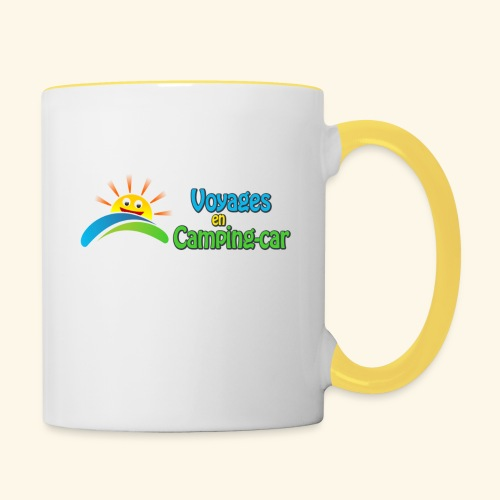 Voyages en Camping-car - Mug contrasté