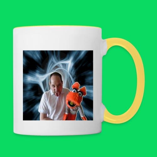 logo tea shirt jpg - Mug contrasté