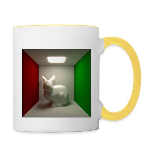Bunny in a Box - Contrasting Mug