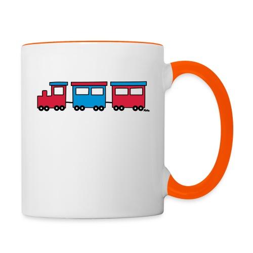 Zug (c) - Tasse zweifarbig