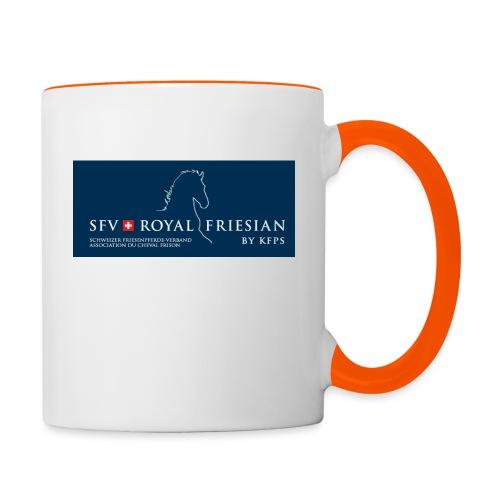SFV Royal Friesian BLUE - Tasse zweifarbig