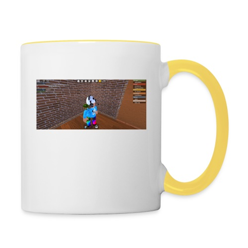panda time - Contrasting Mug