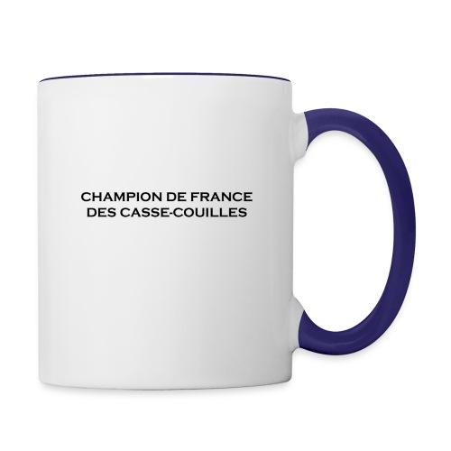design castres - Mug contrasté