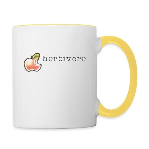 Herbivore - Tasse zweifarbig