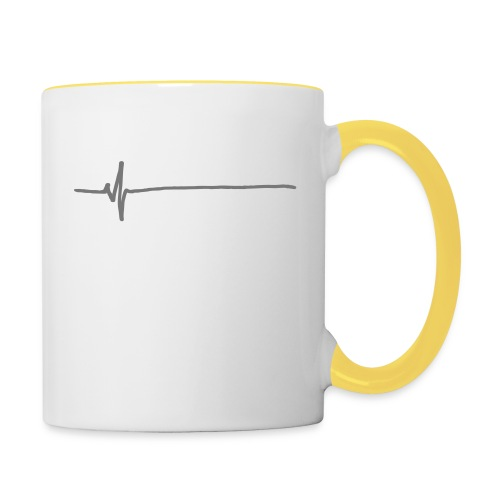 Flatline - Contrasting Mug