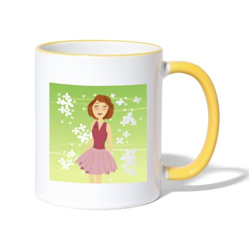 Dreamgirl Katie's lente - Mug contrasté