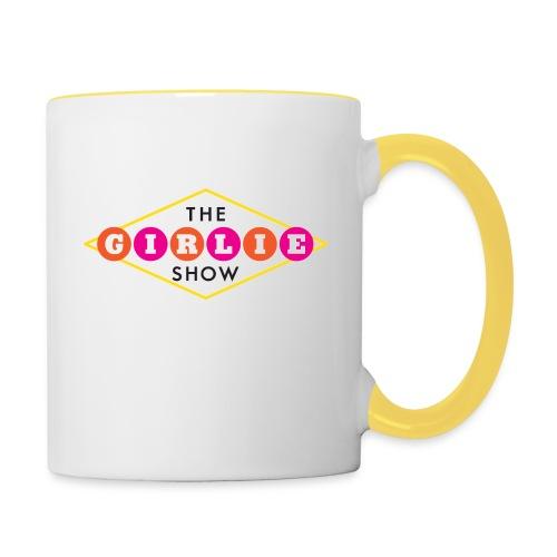 The Girlie Show 30 Rock - Contrasting Mug