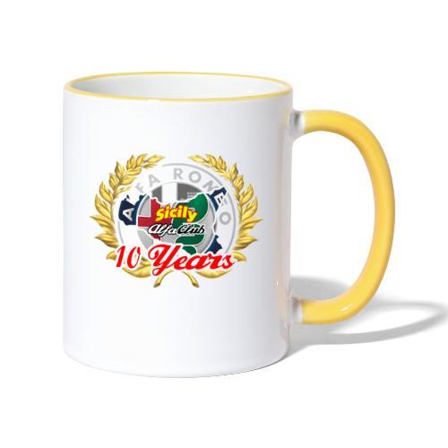logo10 anni - Tazze bicolor