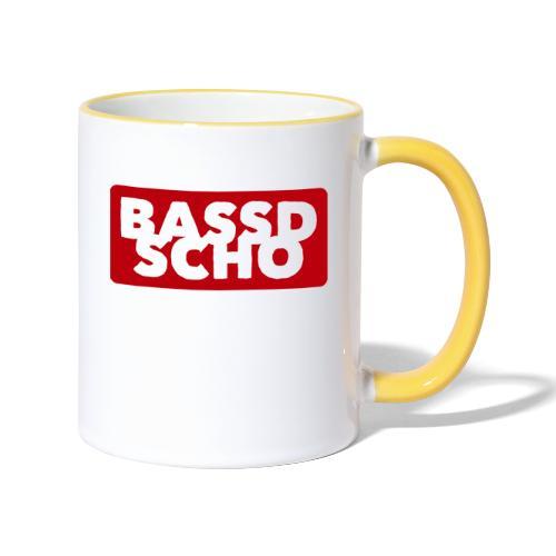 BASSD SCHO - Tasse zweifarbig