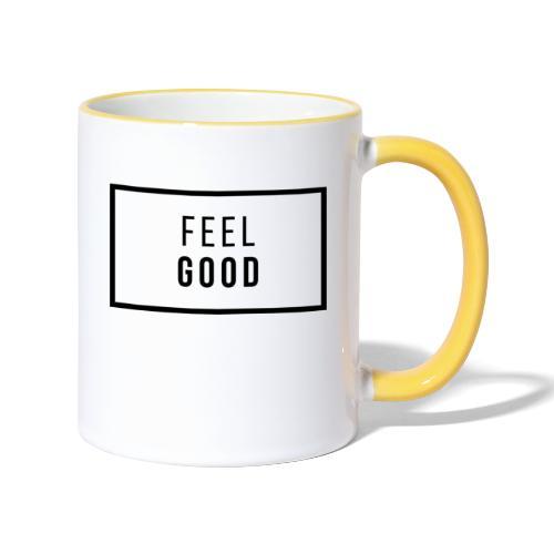 FEEL GOOD - Tvåfärgad mugg