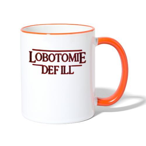 Lobotomie Def Ill - Stranger 80s Edition - Tasse zweifarbig