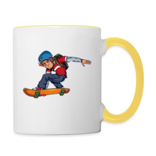Skater - Contrasting Mug