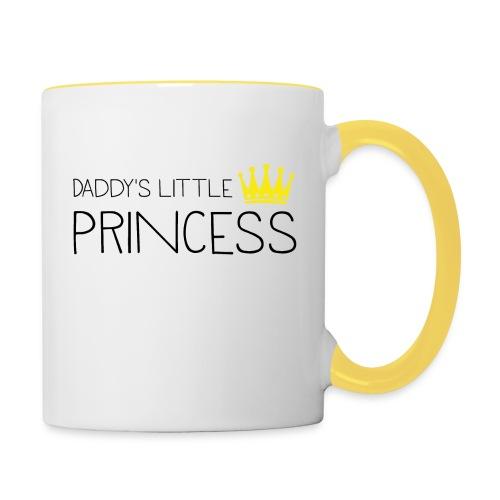 Daddy's little Princess - Tasse zweifarbig