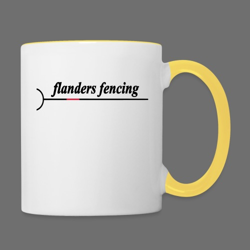 Flanders Fencing - Mok tweekleurig