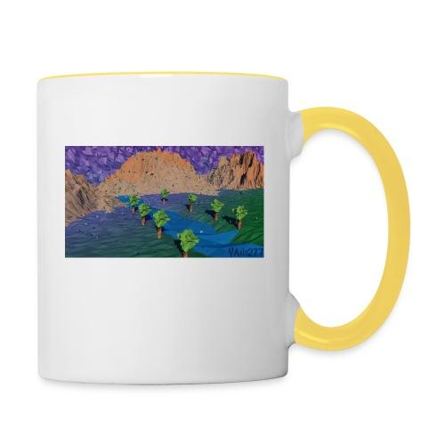 Silent river - Contrasting Mug