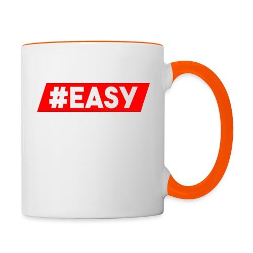 #EASY Classic Logo Snapback - Tazze bicolor