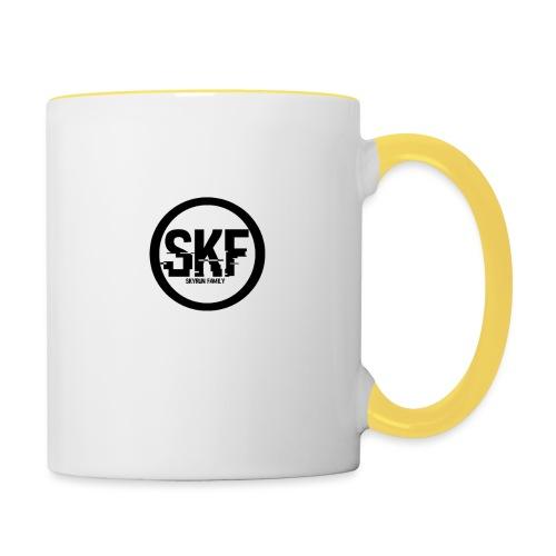 Shop de la skyrun Family ( skf ) - Mug contrasté