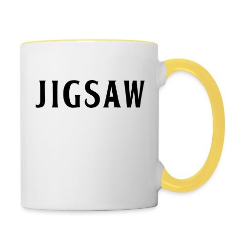 JigSaw Black - Contrasting Mug
