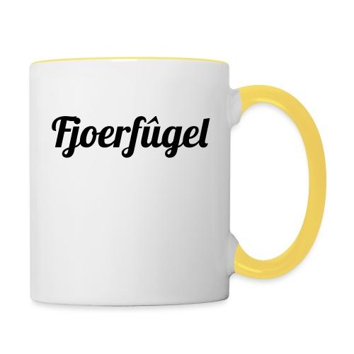 fjoerfugel - Mok tweekleurig