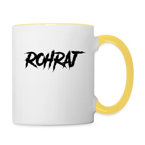 rohraj logo - Contrasting Mug