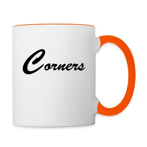 Corners Logo - Tofarvet krus
