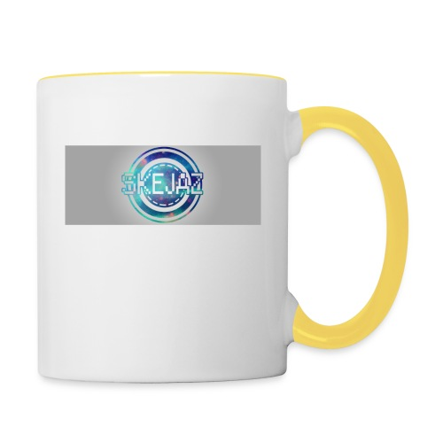 LOGO WITH BACKGROUND - Contrasting Mug