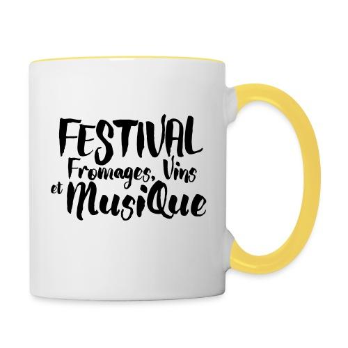 Festival FVM - Mug contrasté