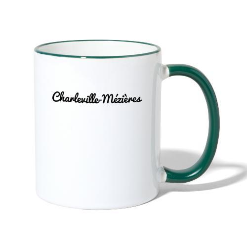 Charleville-Mézières - Marne 51 - Mug contrasté