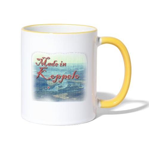 Made in Koppelo lippis - Kaksivärinen muki