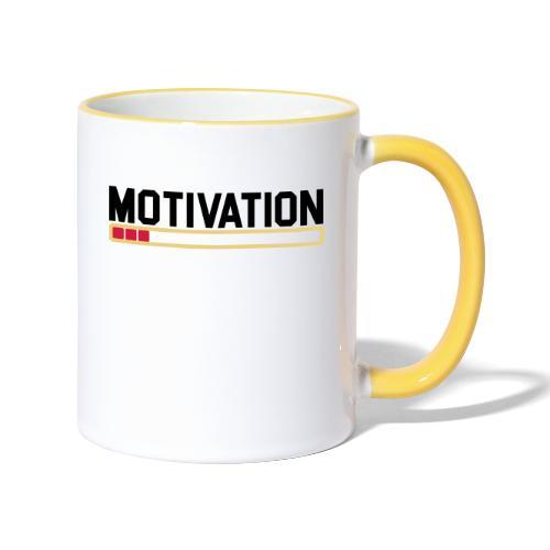 Keine Motivation - Tasse zweifarbig