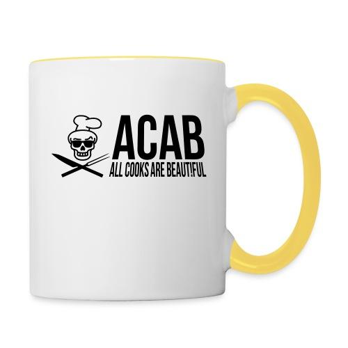 acablang - Tasse zweifarbig