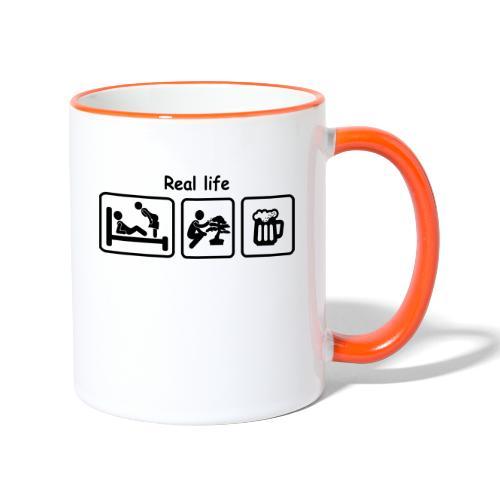 picot_Bonsaï real_life - Mug contrasté