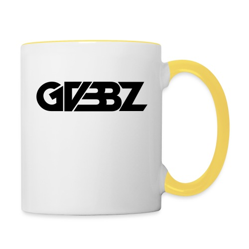 GVBBZ_logotype_black - Tvåfärgad mugg
