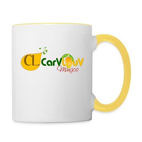 CarVlouV - Taza en dos colores