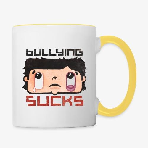 Bullying sucks - Kaksivärinen muki