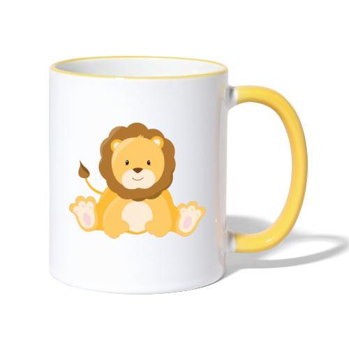 SAFARI Löwe - Tasse zweifarbig