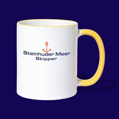Steinhuder Meer-Skipper: Für Wassersport-Fans - Tasse zweifarbig