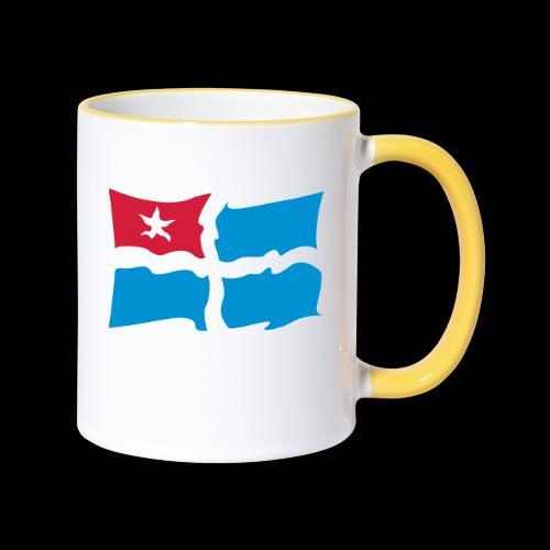 kreta - Tasse zweifarbig