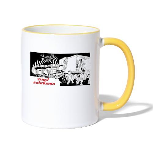 vinyl solutionz - Contrasting Mug