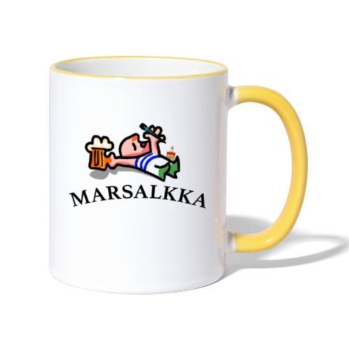 marsalkka - Kaksivärinen muki