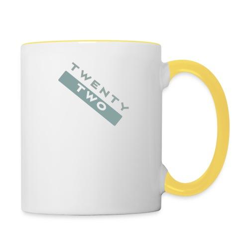 Twenty Two - Contrasting Mug