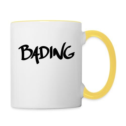 Bading simple - Tasse zweifarbig