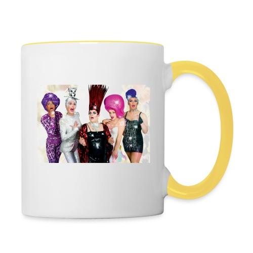 Covergirls - Tasse zweifarbig