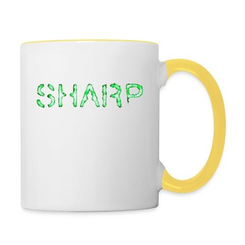 Sharp Clan grey hoodie - Contrasting Mug