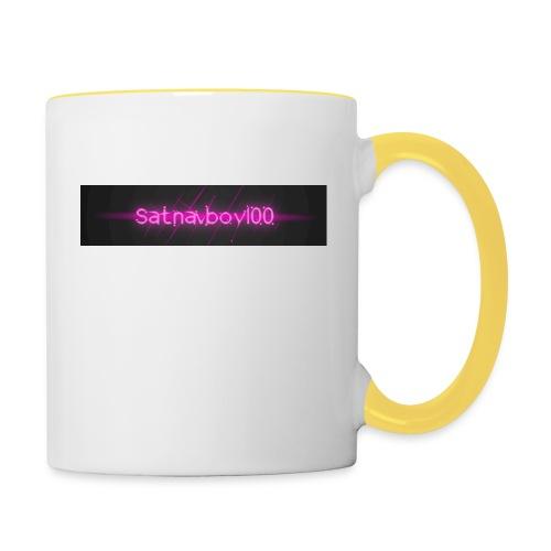 Satnavboy100 Shirt - Contrasting Mug